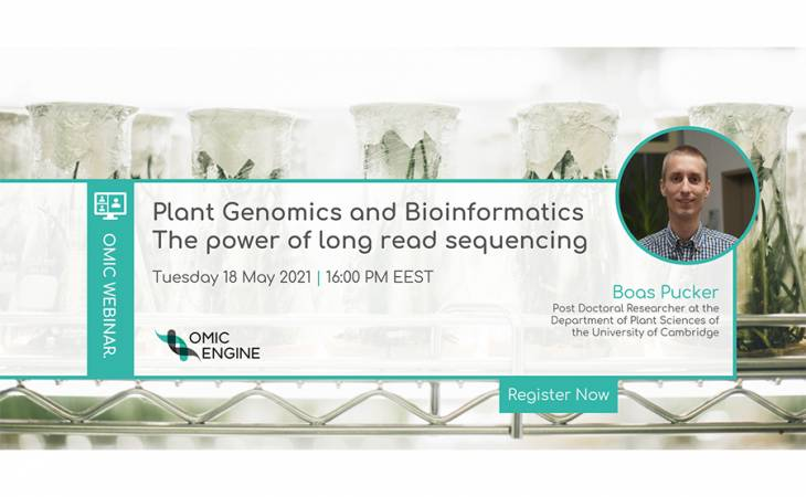 OMIC Webinars: Plant Genomics and Bioinformatics – The power of long read sequencing